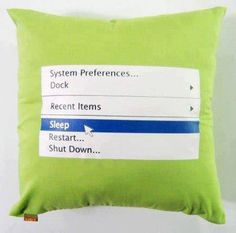 Need This(I Know It Has A Computer Thing On It But Still It A Pillow)