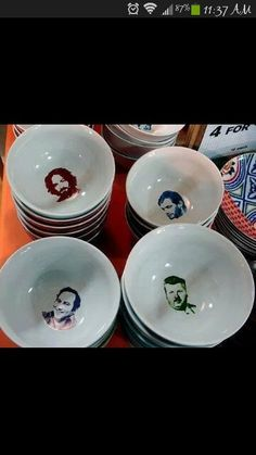 serial killer cereal bowls-I want these Cool Stuff, Scary Stuff, Stupid Stuff, Funny Stuff, Cereal Killer, True Crime Books, Charles Manson, Cereal Bowls, Kitchen Items