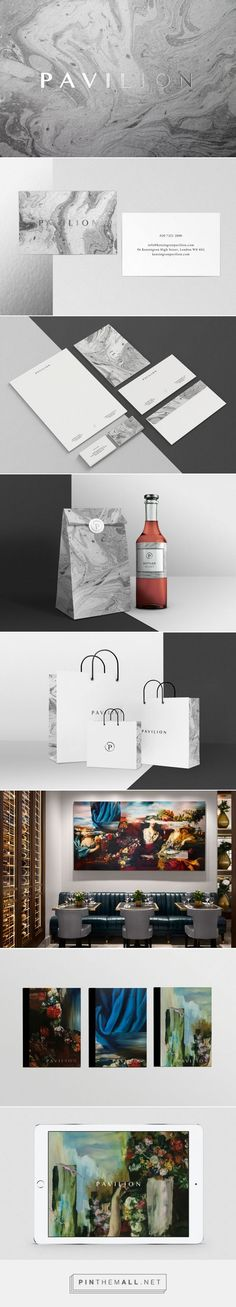 Pavilion Business Club and Restaurant Branding by Evelina Rosinska | Fivestar Branding Agency – Design and Branding Agency & Curated Inspiration Gallery