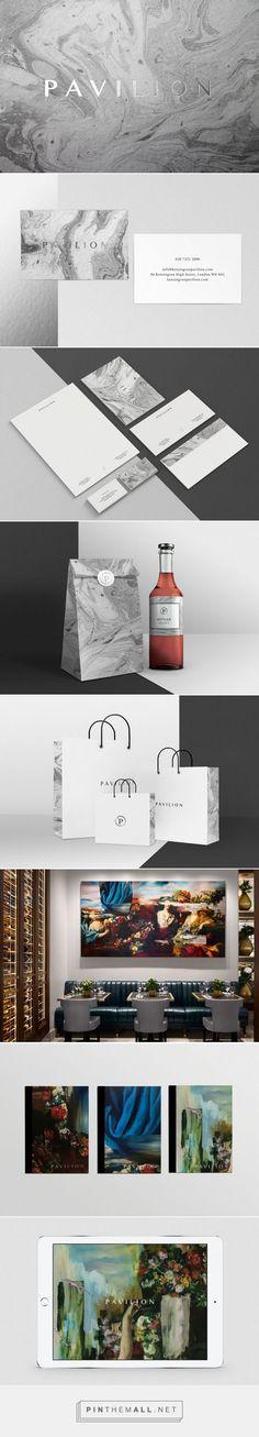 Pavilion Business Club and Restaurant Branding by Evelina Rosinska | Fivestar Branding Agency – Design and Branding Agency & Curated Inspiration Gallery