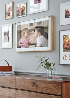 """SamsungThe Frame TV is $2,000 4K TV that also works as a digital display for worksof art. In fact, you can hang it on your wall with a """"no gap"""" mount"""