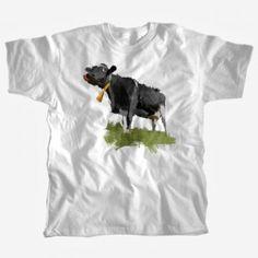 koszulka męska z krową - wybierz kolor, wybierz rozmiar, my zajmiemy się resztą