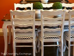 Tips for creating a hand painted finish with spray paint {The Creativity Exchange}