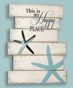 'Happy Place' Wall Plaque