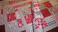 Vánoční prostírání Vánoční prostírání je ušité ze zahraniční látky Makower…