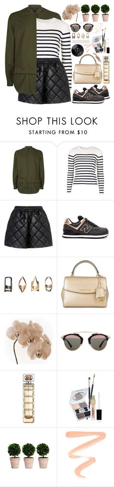 """""""2395. Imaginaton is the only weapon in the war agains reality. ~ Alice in Wonderland"""" by chocolatepumma ❤ liked on Polyvore featuring Retrò, 3.1 Phillip Lim, Topshop, STELLA McCARTNEY, New Balance, MICHAEL Michael Kors, WALL, Christian Dior, HUGO and Napoleon Perdis"""