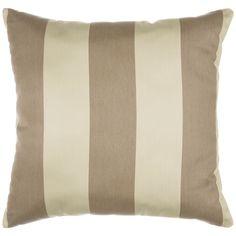 Regency Sand Sunbrella Outdoor Throw Pillow