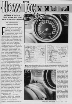 pin by ruth hagan on mustang | 1968 mustang, ford mustang ... 1968 mustang tach wiring 1968 mustang instrument wiring diagram #12