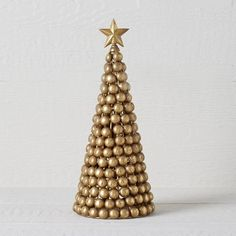 Gold Beaded Tree
