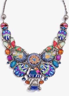 FashionJewelleryModern | Rosamaria G Frangini || {Smitten} Ayala Bar Summer 2015 Radiance Necklace