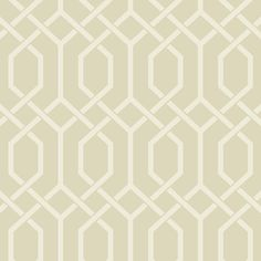 Refresh your interior with this Design 1 wallpaper from Today Interiors. Part of the Madison Geometrics collection it features an elegant trellis pattern & brings contemporary style to your home. This