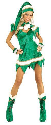 Sexy Christmas Elf Christmas Costume Price: $43.25