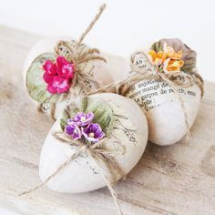 Easter decorations, should be put in a nest and have bible verses