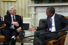 Barack Obama Photos: President Obama Meets with Vietnam's General Secretary Nguyen Phu Trong