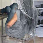 nice 46 Fantastic Silver Hair Color Ideas For Women http://viscawedding.com/2018/05/12/46-fantastic-silver-hair-color-ideas-women/