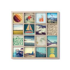 Windowpane Photo Display. perfect for Instagrams!