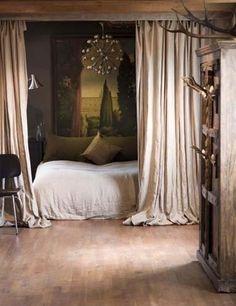 maybe I need drapes around my bed...