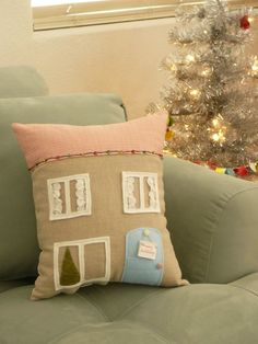 I would do this haha You could take this in theory and do really cute pillows for a kid room too :)