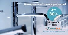 #SpecialDiscounts on #PlumbingSanitaryProducts #BathroomAccessories.  #FestivalOffers #OnlineShopping #NirmanKart.com