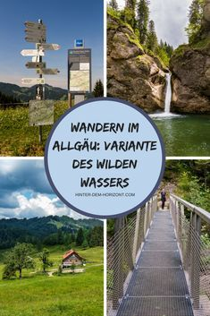 There are many great hiking trails in the Allgäu. There are also certified premium hiking trails such as the Wild Water at Oberstaufen. Usually this is a circular route, but we have adapted it a bit t Camping Ideas, Go Camping, Europe Destinations, Koh Lanta Thailand, Wild Waters, Camping Photography, Road Trip Hacks, Backpacking Europe, Blog Voyage