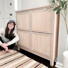 Shoe Cabinet Entryway, Ikea Hemnes Shoe Cabinet, Cabinet Doors, Ikea Brusali, Ikea Shoe Storage, Shoe Storage Cabinet, Ikea Pantry, Ikea Tarva Dresser, Ikea Cabinets
