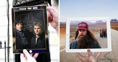 BRIGHTSIDE.ME: Travelers captured photos of famous movie locations