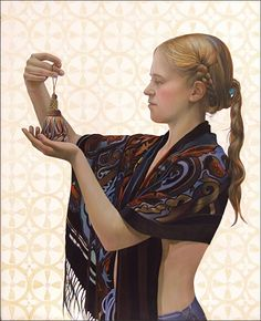 Fred Wessel Tempera, Venetian Scarf and Tassel