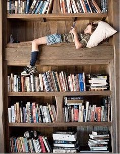 Book bunk. #books
