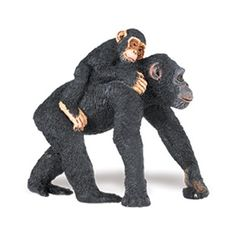 Wild Safari Chimpanzee with Baby at theBIGzoo.com, a family-owned store. Check our sales & FREE Shipping.