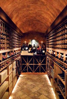 Wine Cellar. #wine #cellar #winecellar