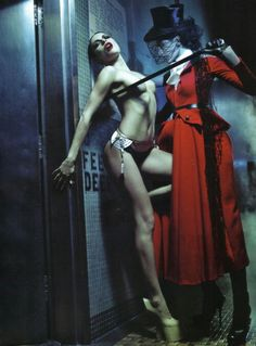 'Rie', Rie Rasmussen and Dafne Cejas by Steven Klein, Vogue Italia