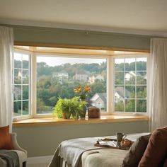 If you have a room with a great view, why not expand it? Bay & Bow Windows are an excellent way to add more light into your room, while creating a dramatic view
