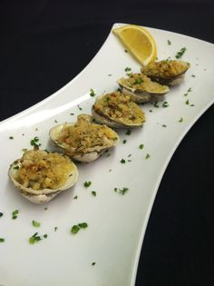 Clams Oregenata at D'Vine!  http://goingout.com/ri/venues/228/D-Vine-On-The-Hill