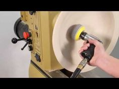 How to Power Sand (woodturning tips and techniques)