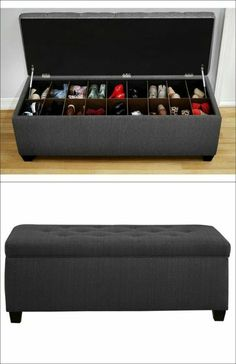 Need! A bench with shoe storage by Sole Secret!