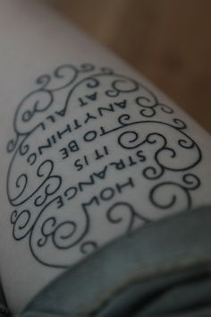 Neutral Milk Hotel lyrics - Love the decoration around the lyrics!