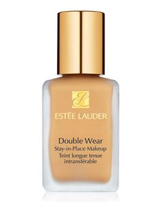 Double Wear Stay-in-Place Makeup by Estee Lauder at Neiman Marcus. Most beautiful, light, full coverage foundation EVER!