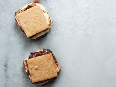 Smoked Almond S'mores with Whiskey Marshmallows.