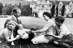 The royal family in 1960.