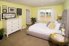 Bright bedroom #Lititznewhomes
