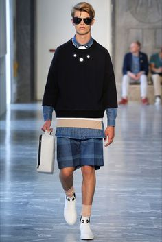 Andrea Pompilio - Men Fashion Spring Summer 2015 - Shows - Vogue.it