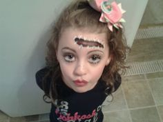 SUPER CUTE Halloween Zombie, Dead Girl, just awesome Makeup Idea ...