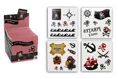 1 x 4  mini Bögen Tattoo - Piraten - Piratenparty - Mitgebsel in Möbel & Wohnen, Feste & Besondere Anlässe, Party- & Eventdekoration | eBay!