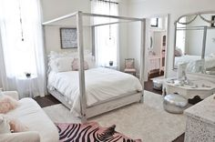 Shabby Chic Bedrooms | Shabby Chic Bedroom Desig with Shabby Chic Decoration Making the ...