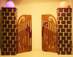 Willy Wonka Entrance Gates Prop Hire