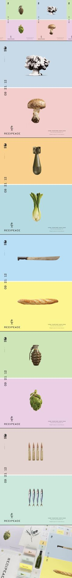 Recipeace Campaign by Leo Burnett