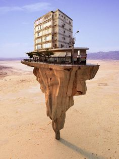 Surrealistische gebouwen