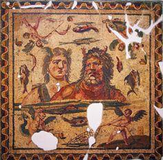 Oceanus and Thetis mosaic - Antakya