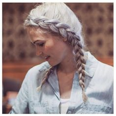11 Amazing Pigtail Braids You Need To See Pigtail Braids, Hot Hair Styles, Gorgeous Hair, Hair Trends, Her Hair, Braided Hairstyles, Hair Inspiration, Hair Makeup, Edward Scissorhands