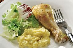 Πουρές λαχανικών Healthy Cooking, Chicken Wings, Meat, Recipes, Food, Gastronomia, Side Dishes, Essen, Eten
